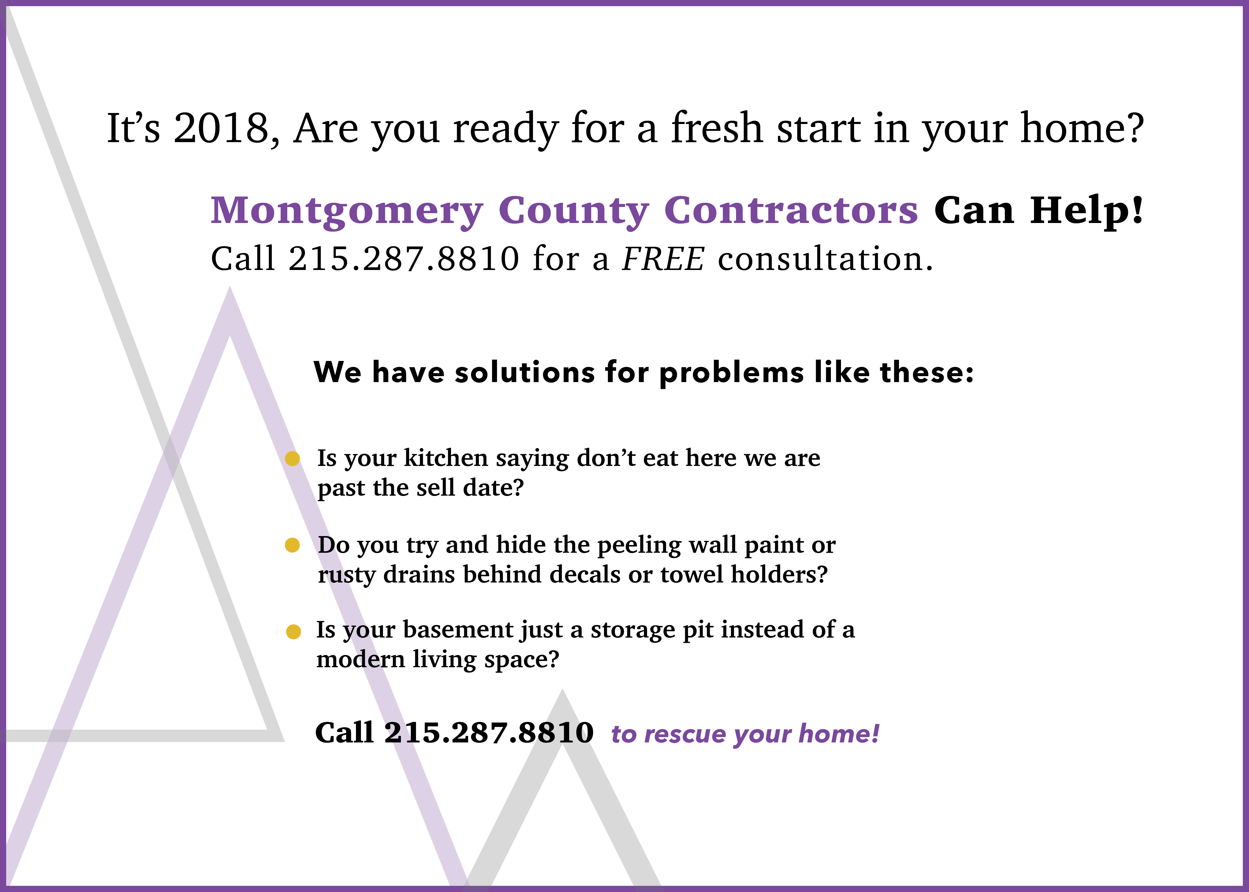What Montgomery County Contractors provides its clients