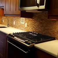 Medium Shade Wood cabinet renovations