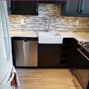 Levittown kitchen after