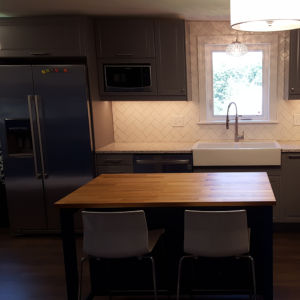 Feasterville kitchen after