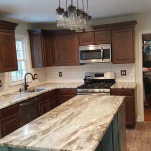 Maple Glen kitchen after